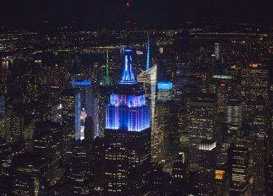 Empire State Building – Tower Lighting Replacement