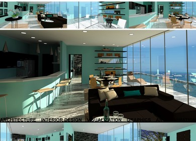 3d Visualization - Interior Design Rendering