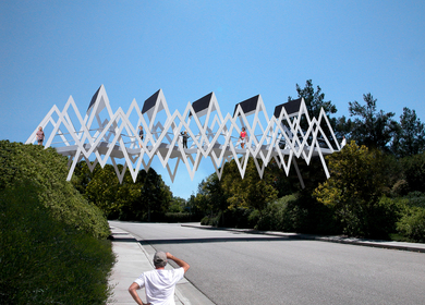 The Solar Zigzag Footbridge