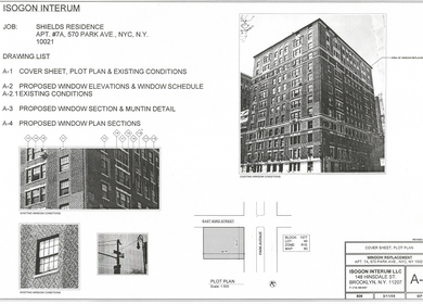 570 Park Avenue - Window Replacement