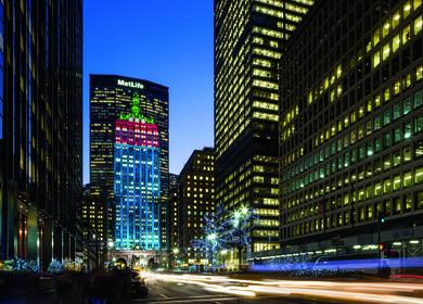 230 Park Avenue Facade Lighting