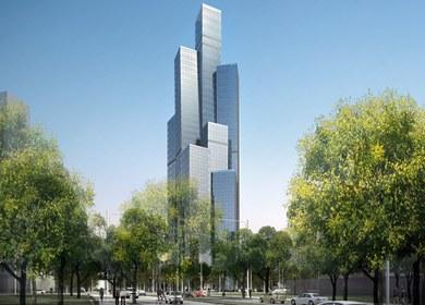 Tian Fang Tower- Eco-City