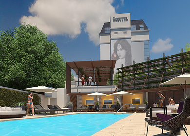 Sofitel Hotel Exterior Spaces
