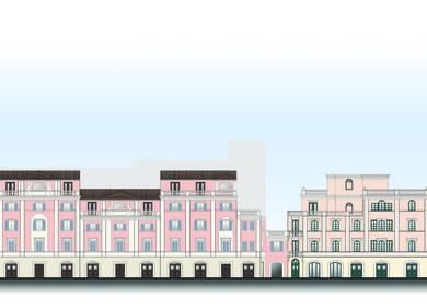 Project for the Urbanization of the Military Area at Via di San Michele (Ex-orti del Convento di San Francesco)