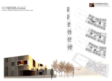 HOUSING FOR YOUNG PEOPLE CONTEST: Drawing & Design