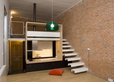 Loft Andrés Borrego. Madrid. Spain