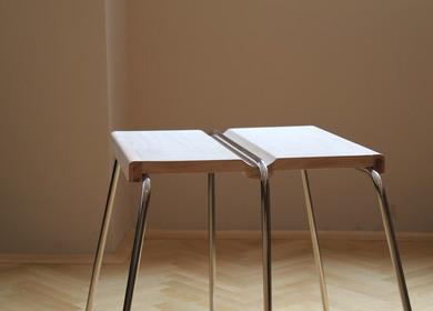 Half stool