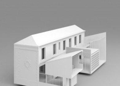 Agence Neufville-Gayet Architectes, Paris 2012