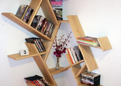 Corner Shelf Design - Vellum Furniture Competition