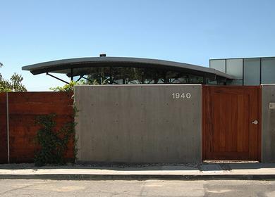 1950 terrace hillside residence