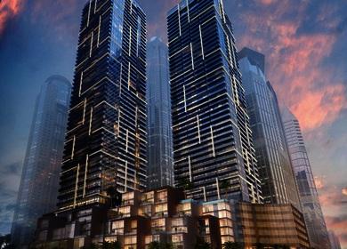 Aedas designs iconic residences at Dubai Marina