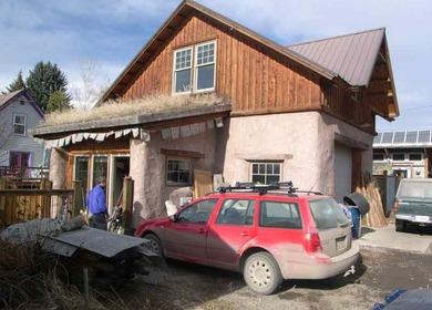 Straw Bale Garage and studio