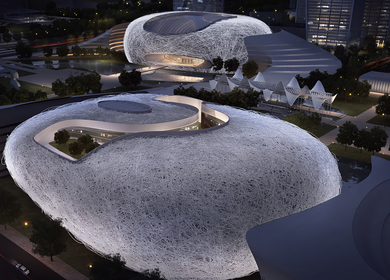 Yichang New District Master Plan and Public Service Center, Exhibition Planning Center, Museum