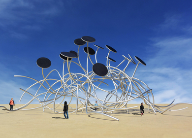 The Solar Energetic Pavilion