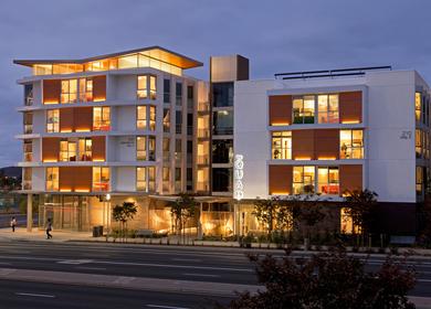 Quad at North City Student Housing