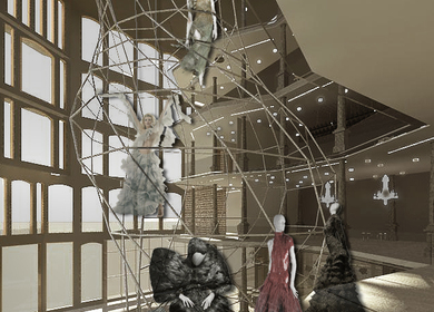 Alexander McQueen Flagship Store - Thesis