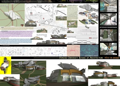 HOWARD UNIVERSITY SCHOOL OF ARCHITECTURE & DESIGN SAMPLES