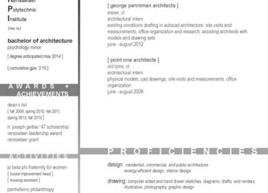 Resume and Work Samples