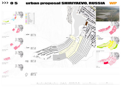 Urban proposal for Repin Valley