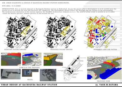 Urban Diagnostic & Development at Kachiguda Railway Station