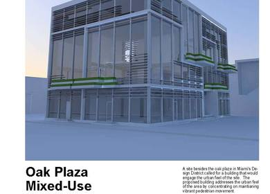 Oak Plaza Mixed Use Building