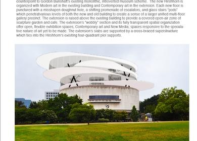 Hirshhorn Museum Expansion
