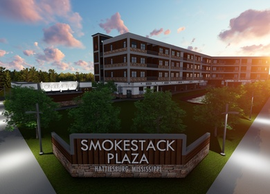 S3 | 3S Architectural Studio III - Smokestack Plaza - Mixed-Use Development