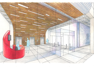 Lobby Competition : HMFH Architects