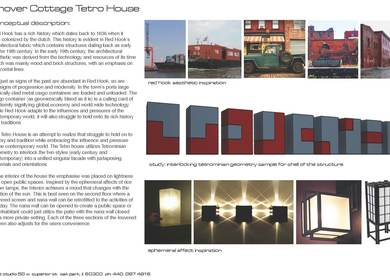 Conover Cottages Competition, Red Hook Brooklyn New York