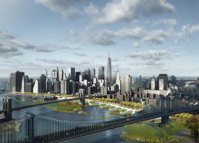 Visioning Manhattan 2111   Urban Design with Assumptions