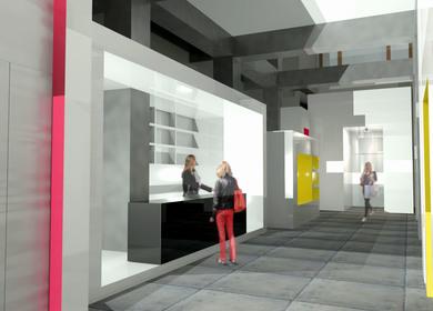 Yohji Yamamoto Flagship Store - Soho