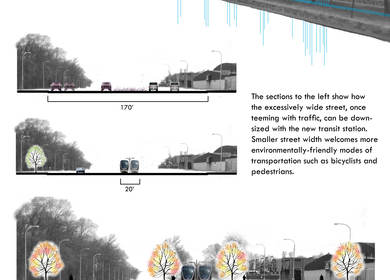 A City of Trees - Detroit Lightrail Project