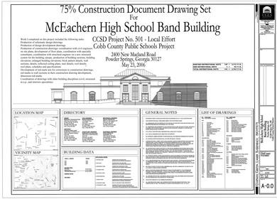 McEachern Band Building