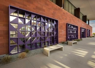 Door entrance in the cross border bridge San Diego-Tijuana (CBX)