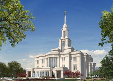 LDS Temple - Payson, Utah