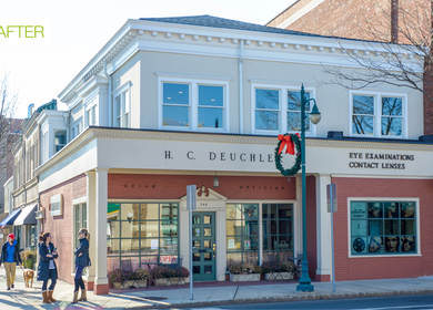 H.C. Deuchler Optician Before & After | Summit, NJ