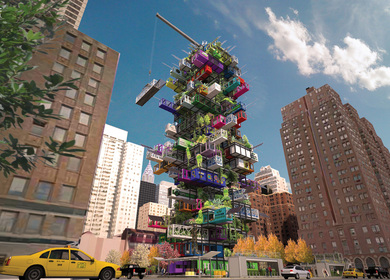 Fresh from the sky: HIVE-INN™ CITY FARM JUST LANDED IN NEW YORK