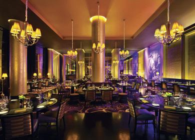 Las Vegas City Center: Sage Restaurant, Bar Moderno, Elevator Lobbies, Poker Room and Roasted Bean Express