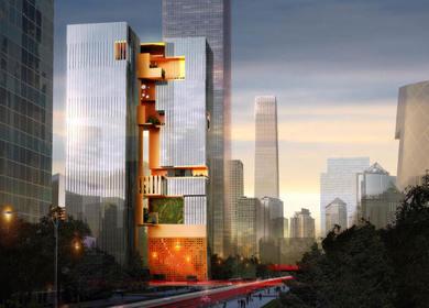 CBD Beijing towers