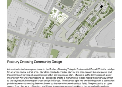 Roxbury Crossing Community Design