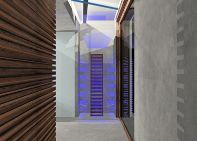 New showroom and offices of Paros * EXPA *