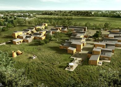 3XN - Sustainable Housing, Næstved, dk