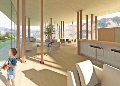 Timber Post Pavilion