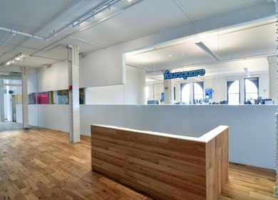 Foursquare HQ offices @ SoHo