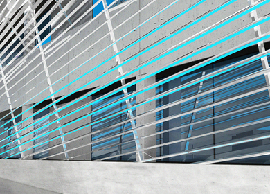 Liquid Facade - Integrated Cooling System
