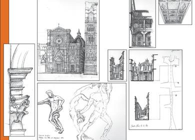 Sketching Through Italy