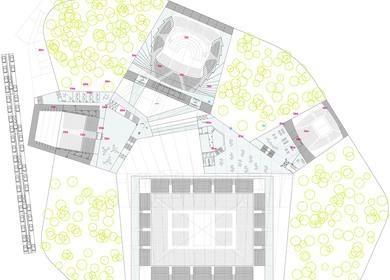 Auditorium in Vitoria. Architecture competition.