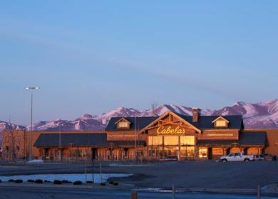 Cabelas Anchorage Store
