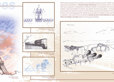Personal Sketches / Hand Renderings