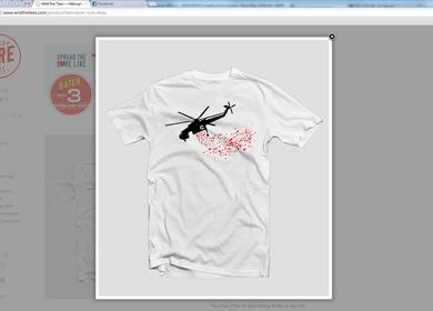 Wild Fire Tees- t-shirt design